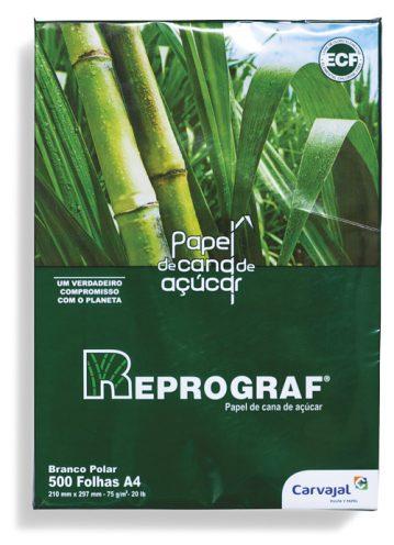 Papel sulfite produzido na Colômbia com celulose do bagaço de cana