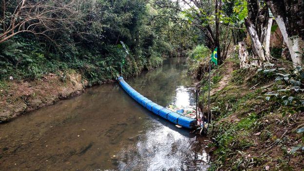 A rede no rio Atuba inspirou projetos semelhantes em várias cidades do país