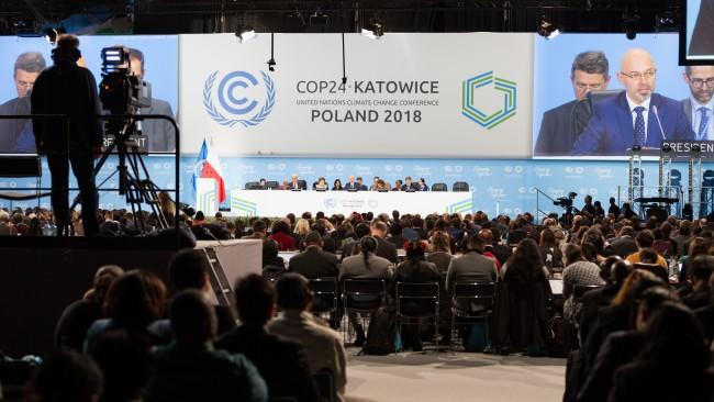 Conferência do Clima COP 24 COP 24 Katowice, na Polônia – plenário de abertura. Foto UNclimatechange