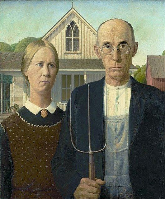 American Gothic (Grant Wood - 1930)