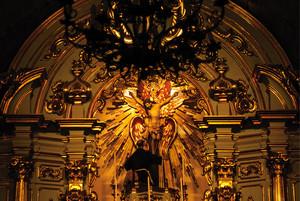 © LÉO RAMOS CHAVESNa Igreja da Ordem Terceira de São Francisco, em São Paulo, o altar de 1792 voltou a reluzir após o restauro