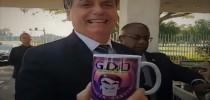 Presidente Bolsonaro ironiza a existência do gabinete do ódio...