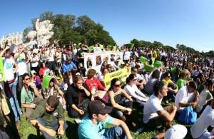 Mobilização contra retrocessos no Código Florestal no Viva a Mata 2013