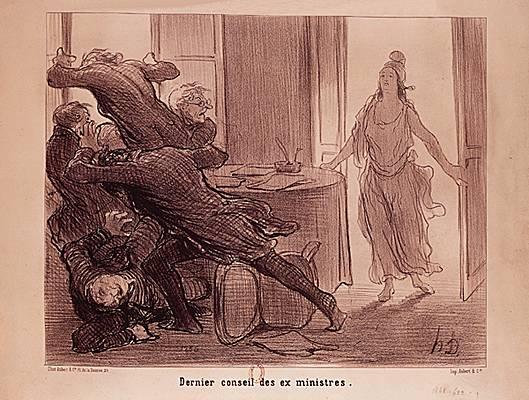Honoré Daumier: Dernier conseil des ex-ministres