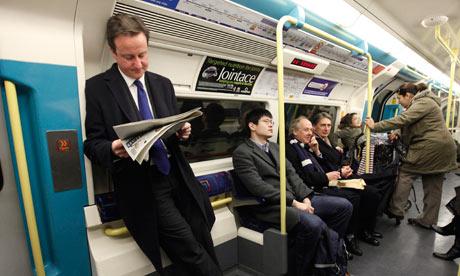 Cameron - vida normal antes e durante o exercício do poder