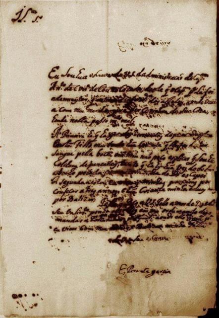 Cópia da carta escrita e enviada por Esperança © divulgação