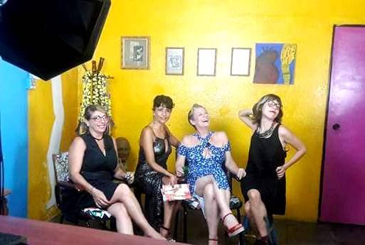 Ana Alencar, Paula Pretta, Luiza Pastor e Paula Chimanovitch