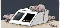 FRAUDE ELEITORAL - Ratos sobre urna