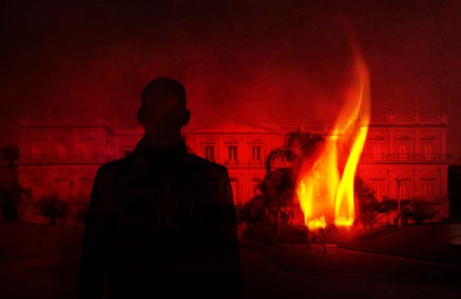 Incêndio Museu Nacional, Rio de Janeiro