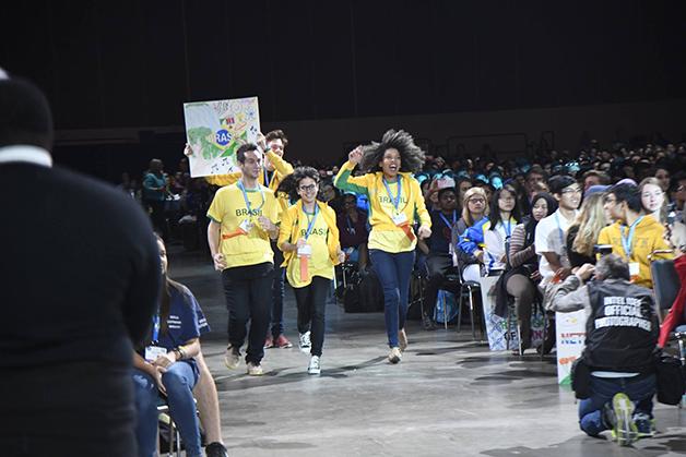 Equipe brasileira (Foto © Divulgação Intel)