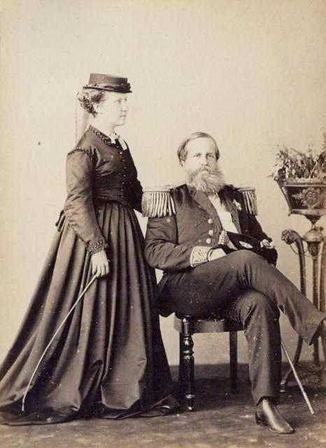 Isabel e Pedro II, 1870