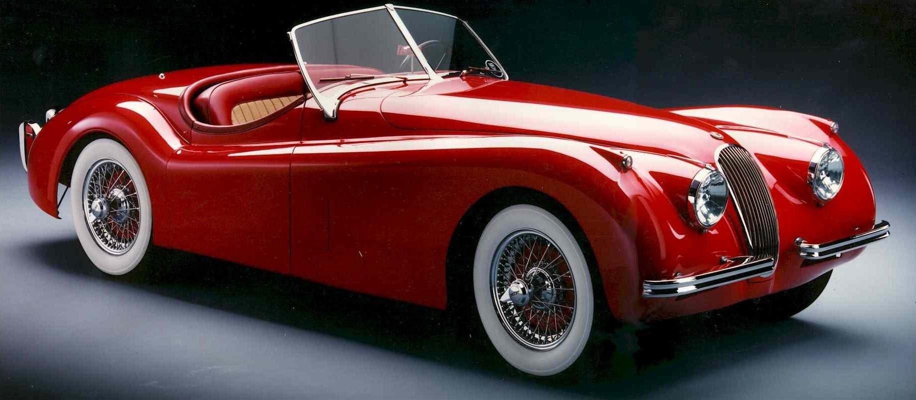 jaguar-xk-120-red