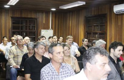 Convidados assistem ao ciclo de palestras e debates realizado na Unidade Jaguaré da PePec Ambiental.