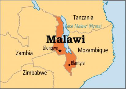 Malawi-mapa
