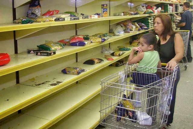 Falta tudo na Venezuela