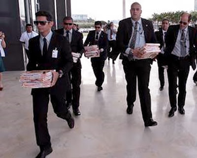 Pizzas chegam ao Supremo Tribunal Federal