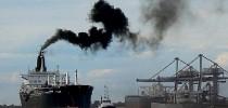 Poluição-transporte-marítimo