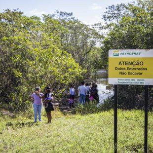 Encontro da Campanha em São Mateus, norte do ES. (Foto: Rosilene Miliotti / FASE)