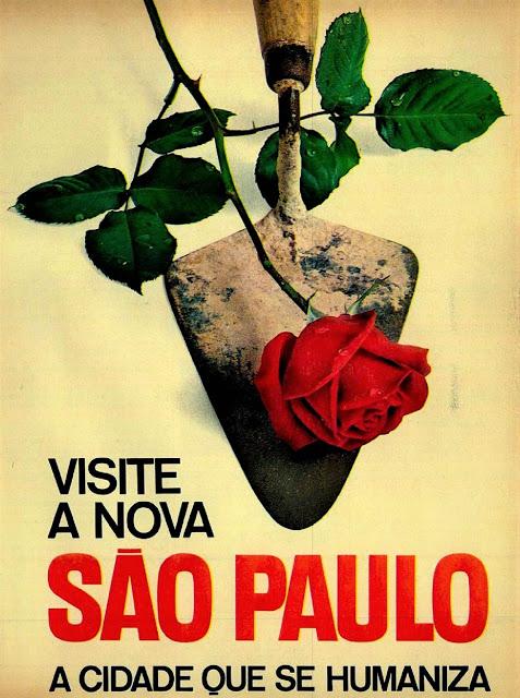 Anúncio de 1964 - Prefeito Brig. Faria Lima