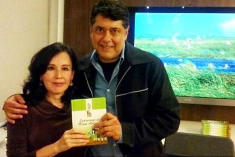 Sergio Adeodato no lançamento do livro