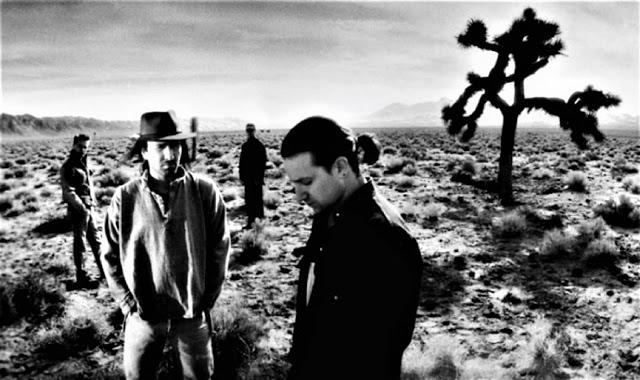 """U2 em """"The Joshua Tree"""" - foto de Anton Corbijn"""