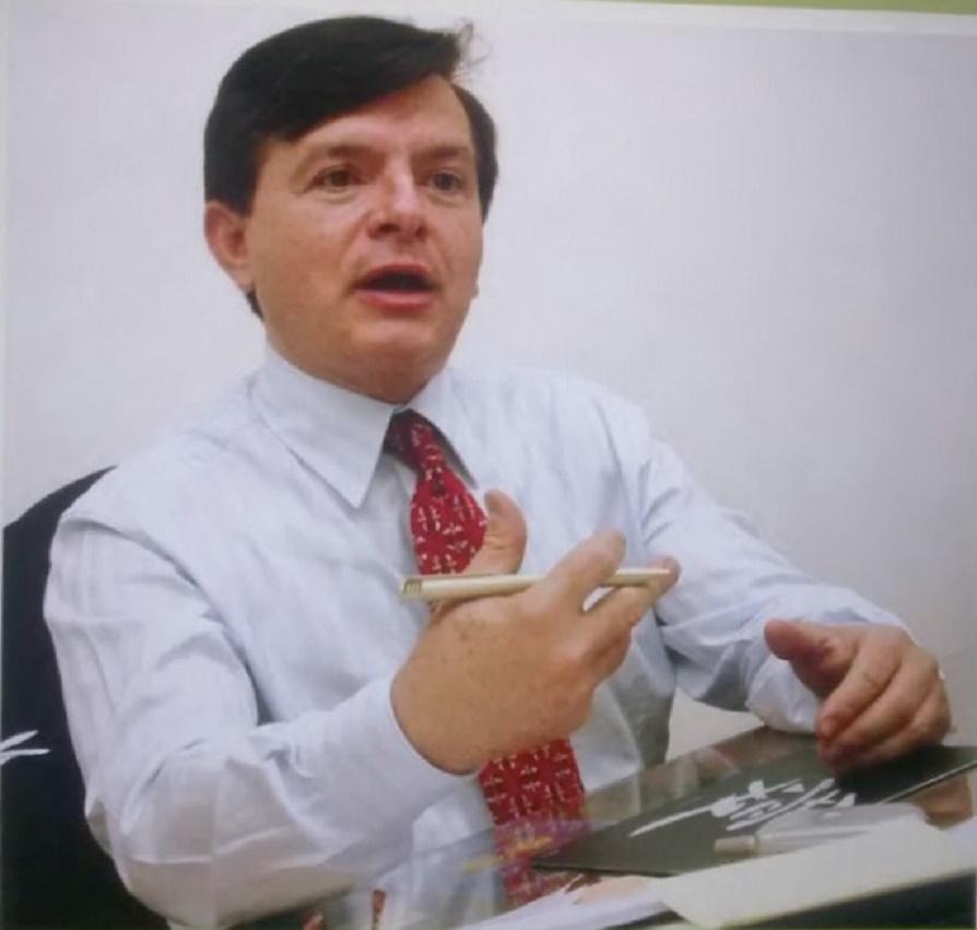 Antonio Herman Benjamin durante entrevista para a Revista Ambiente Legal (foto: Luiz Cláudio Barbosa)