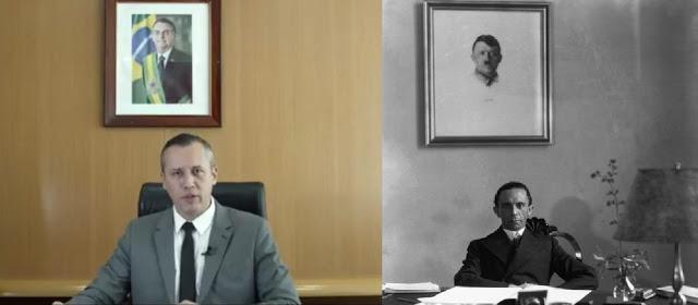 Alvim e Goebbels - semelhança ou coincidência?