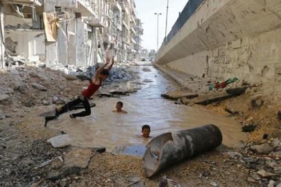 agua na siria