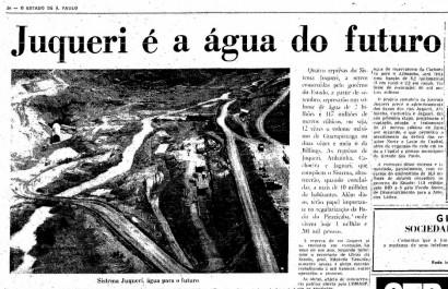 """Acervo do jornal """"O Estado de SP"""", Sistema Juqueri."""