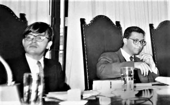 Herman Benjamin e Pinheiro Pedro em 1992, convergências e divergências em décadas de amizade