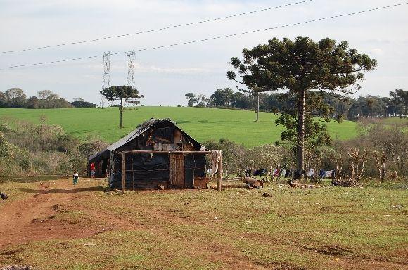 Aldeia Kaingang, RS Foto: CIMI/Divulgação
