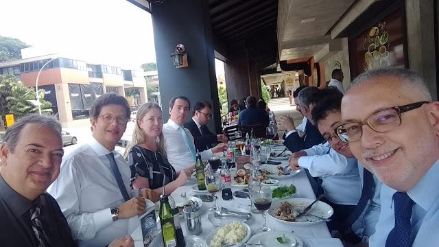 Equipe que elaborou o plano de transição do MMA, almoça em Brasília com o futuro Ministro reações eram esperadas desde antes da posse... (foto-AFPP-2018)