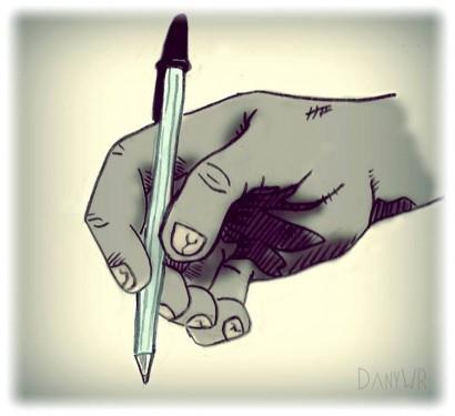 Desenho de Dany WR.