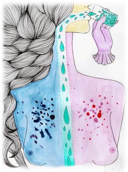 Ilustração Dany WR