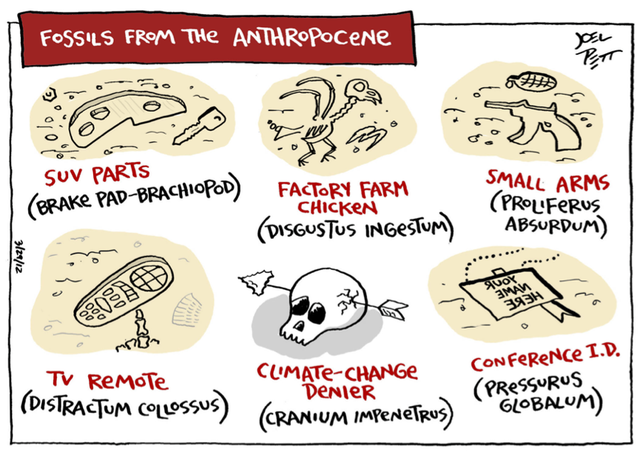 antropocenos...