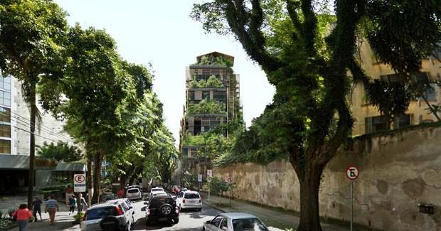 Torre assinada por Jean Nouvel, em SP (foto divulgação)