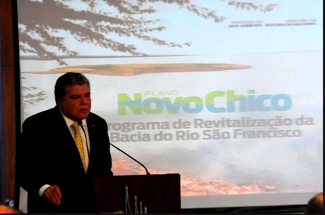 Ministro Sarney Filho participa da solenidade de lançamento do Programa Novo Chico no Palácio do Planalto.(Fotos: Paulo de Araújo/MMA)