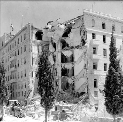 atentado ao hotel king David