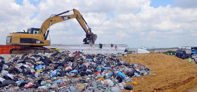 Aterro sanitário em Campinas,SP