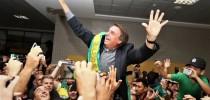 Bolsonaro na Convenção do PSL - apoio popular que assusta o stablishment