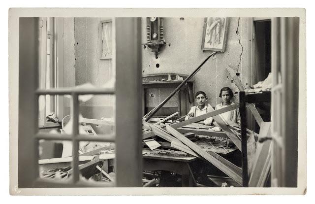 Residência atingida pelo conflito - 1924