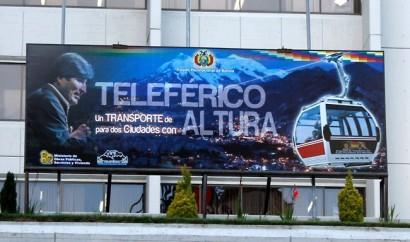 Campanha do projeto de teleféricos.
