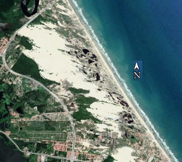 Parque Natural das Dunas da Sabiaguaba, município de Fortaleza - CE