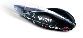 Projeto de alunos da FEI, carro elétrico X17 (foto) atinge 135 km/kWh e foi premiado na Maratona de Eficiência Energética. Imagem: Reprodução/Internet