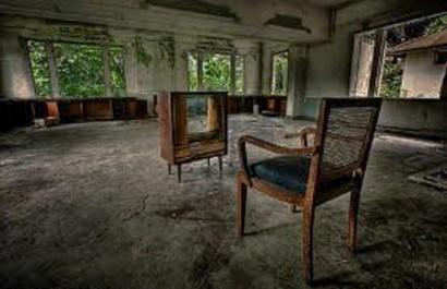casa vazia, pós-tsunami - Malásia
