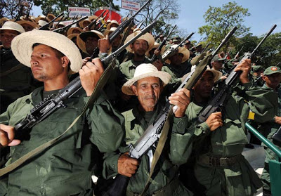 Milícia camponesa - baderna remunerada