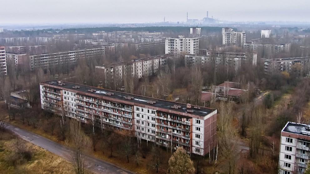 Cidade de Chernobyl evacuada desde 1986