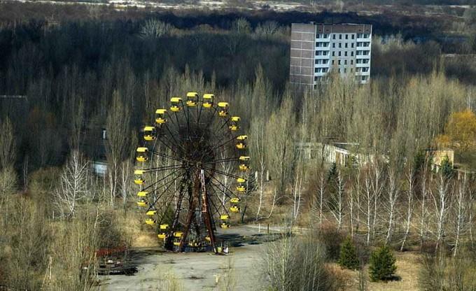 Uma cidade abandonada