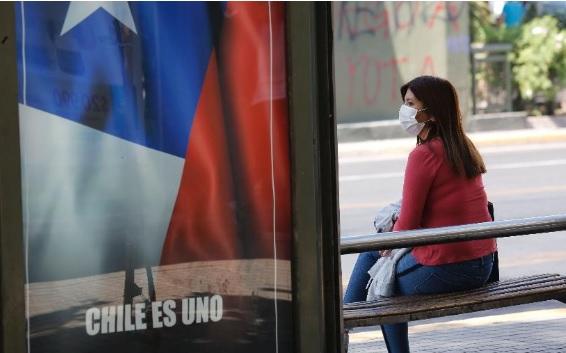 Chile durante pandemia do novo coronavírus (Imagem: Marcelo Hernandez/Getty Images)