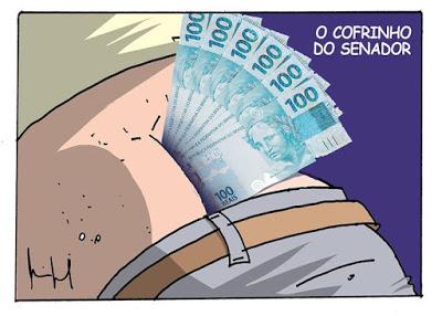 Polícia Federal encontrou dinheiro entre as nádegas do senador Chico Rodriges (DEM-RR), vice-lider do governo Bolsonaro no Senado